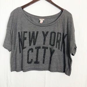 New York City Crop Top Size XXL